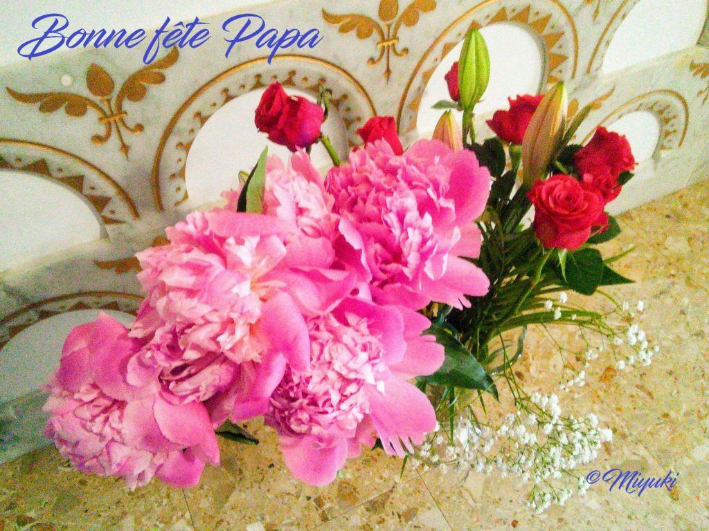 Composition florale : Miyuki HARA-LAMY
