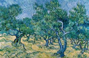 'oliviers, Van Gogh 1889