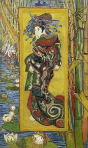 La courtisane, Van Gogh, 1887