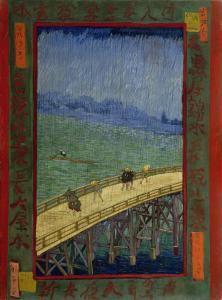 Pont sous la pluie, Van Gogh 1887